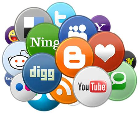 social buttons How Social Media Can Affect Your Site's Rankings