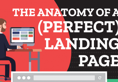 How To Create An Action-Oriented Landing Page – Beginner's Guide [Infographic]