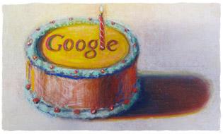 Google 12th Birthday 2010