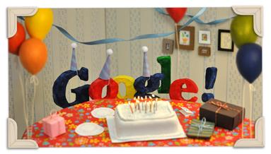 Google's 13th Birthday 2011