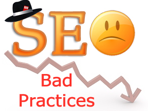 Bad SEO Practices